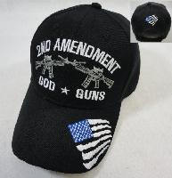2nd Amendment Hat [God-Guns]